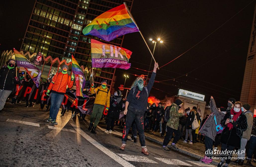 Strajk Kobiet w Warszawie 27.01.2021