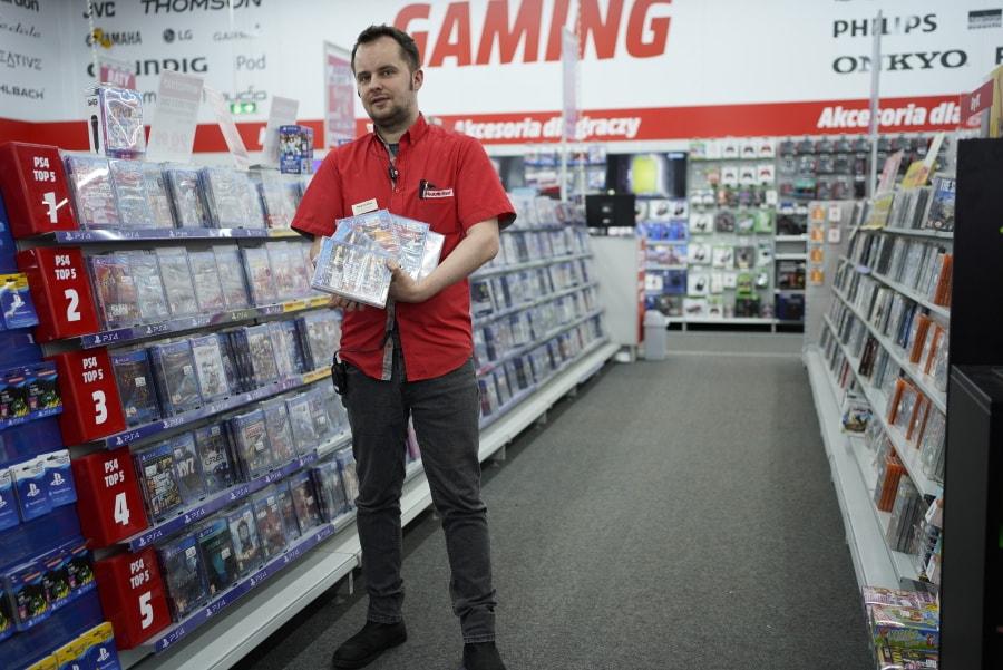 gry wideo w Media Markt