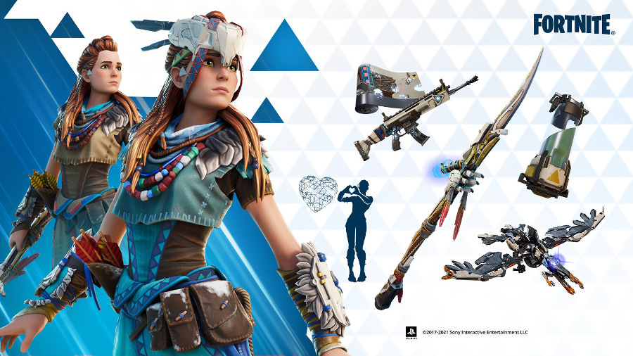 Aloy w Fortnite