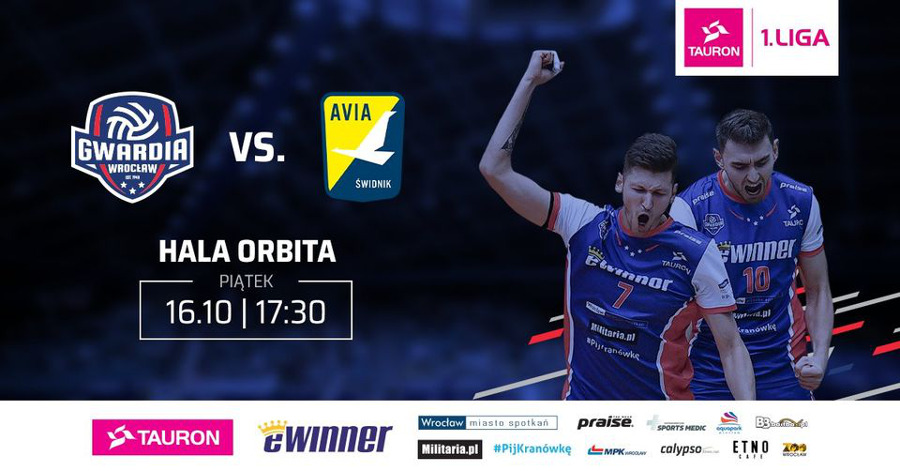 eWinner Gwardia Wrocław mecz 16.10.2020