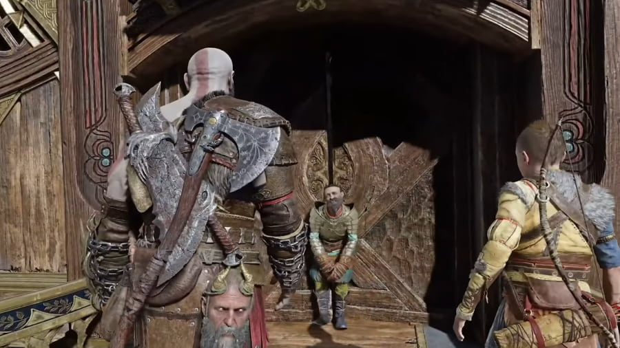 God Of War Ragnarok gameplay