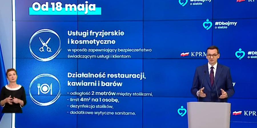 3 etap łagodzenie obostrzeń w Polsce