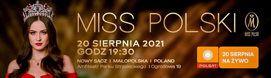 finał konkursu Miss Polski 2021
