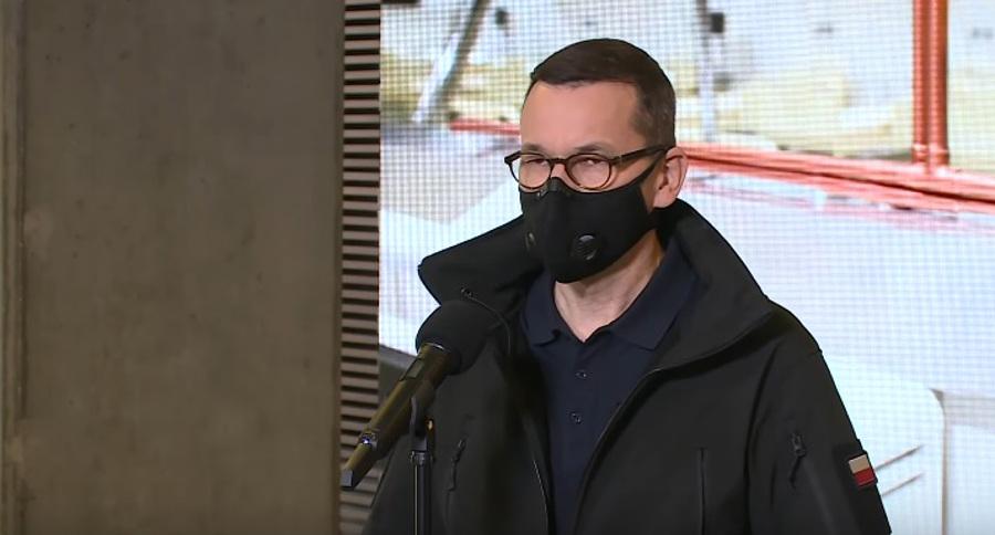 Mateusz Morawiecki - konferencja prasowa