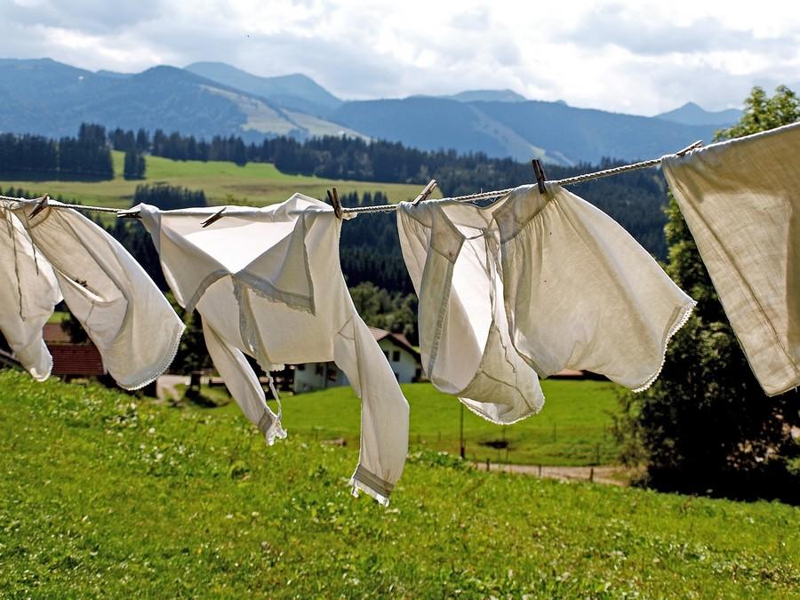 pranie - pralka ładowana od góry