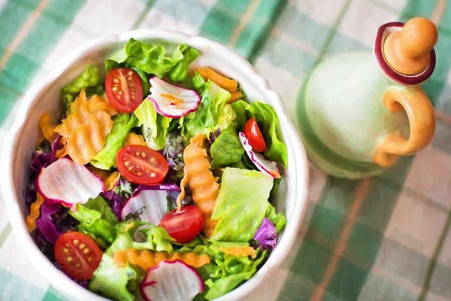 sałatka, zdrowe odżywianie