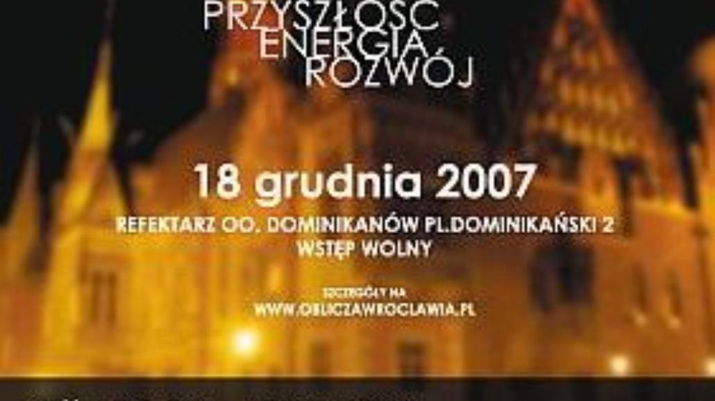 """""""Oblicza Wrocławia"""" - konferencja"""
