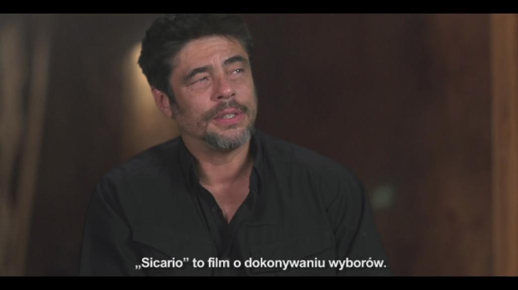 "Blunt, Del Toro i Brolin o kulisach ""Sicario"" [WIDEO]"