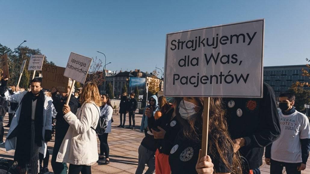 Strajk studentÃłw