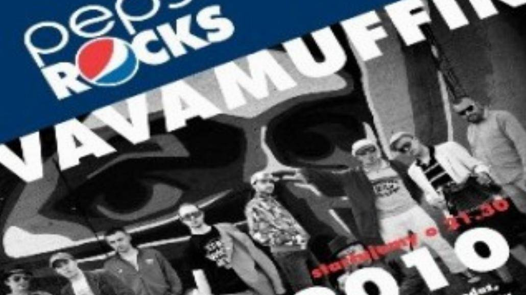 Pepsi Rocks: Vavamuffin w Hard Rock Cafe
