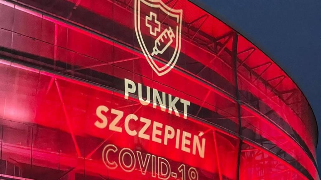 szczepienia Stadion Wrocław