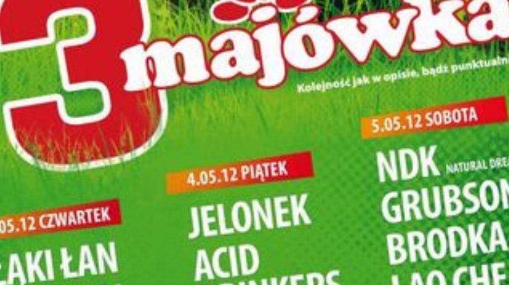 3-majówka - najlepsze polskie zespoły we Wrocławiu