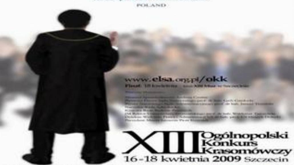 XIII Ogólnopolski Konkurs Krasomówczy