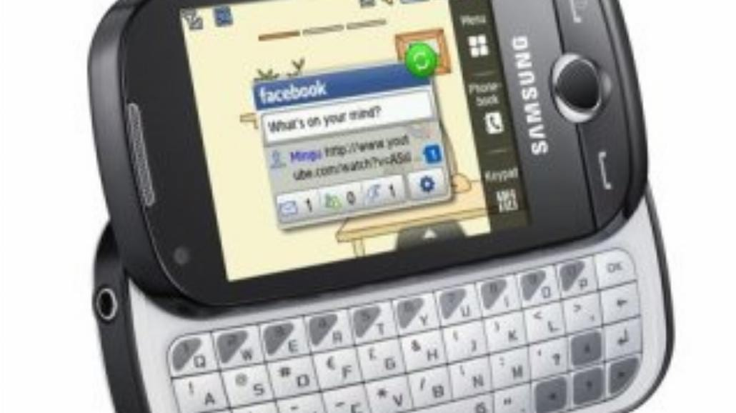 Samsung Corby Pro - młodzieżowy smartfon