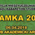 Międzyuczelniany Przegląd Kabaretów Studenckich KLAMKA 2018 - występy, publiczność, konkurs, grupy