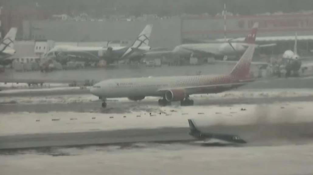 Zobacz filmik, na ktÃłrym widać zdarzenie z lotniska w Moskwie!