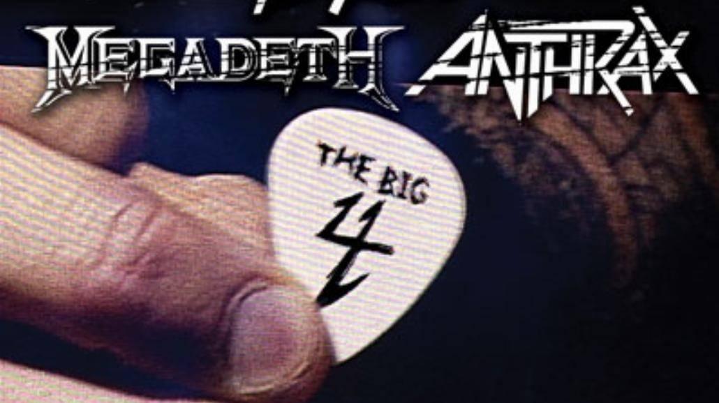DVD wielkiej czwórki thrash metalu!