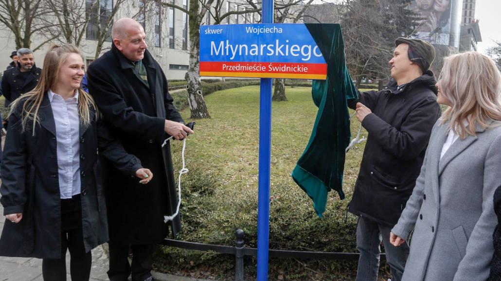 skwer Wojciecha MÅ'ynarskiego