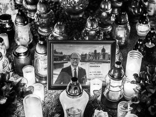 Światełko dla Adamowicza - Polacy uczcili prezydenta Gdańska [FOTO] - zdjęcia, wydarzenia, wiece, 2019