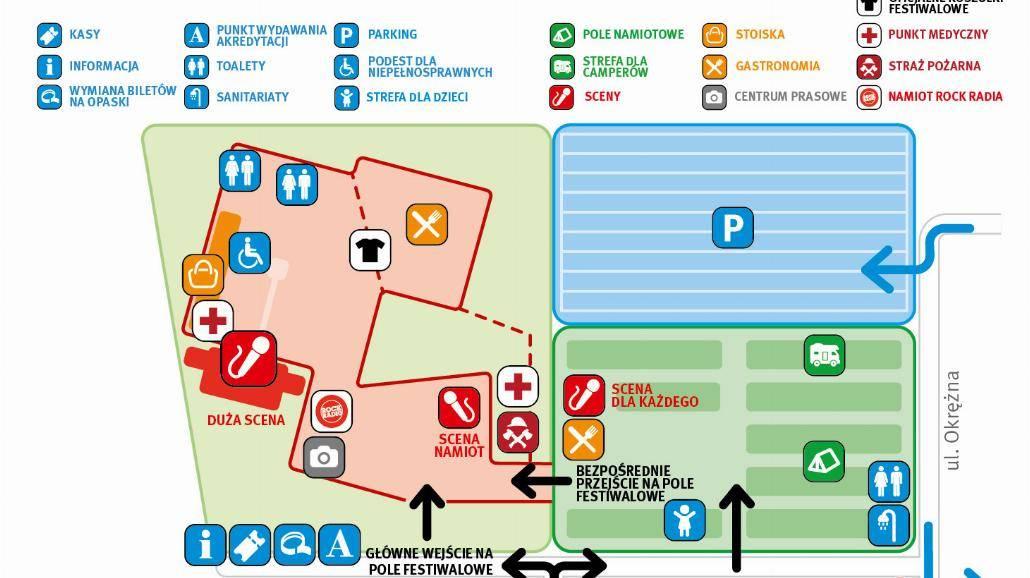 Jarocin Festiwal 2015. Zobacz mapkę festiwalową oraz harmonogram imprezy [ZDJĘCIA, BILETY]