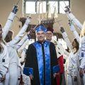 Uroczystość nadania tytułu doktora honoris causa UG doktorowi Thomasowi Bachowi [ZDJĘCIA] - Relacja, Foto, Przebieg, Uniwersytet Gdański, 2019, Wydarzenia, Tytuł, Nadanie