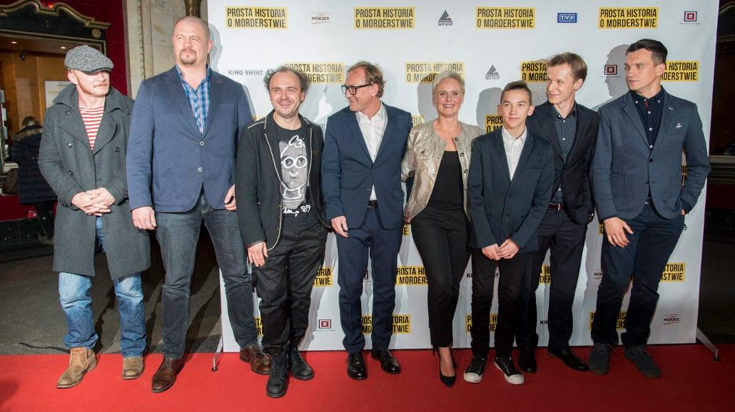 """Chyra, Preis, Jakubik, Boczarska i inni na premierze """"Prostej historii o morderstwie"""" [FOTO]"""