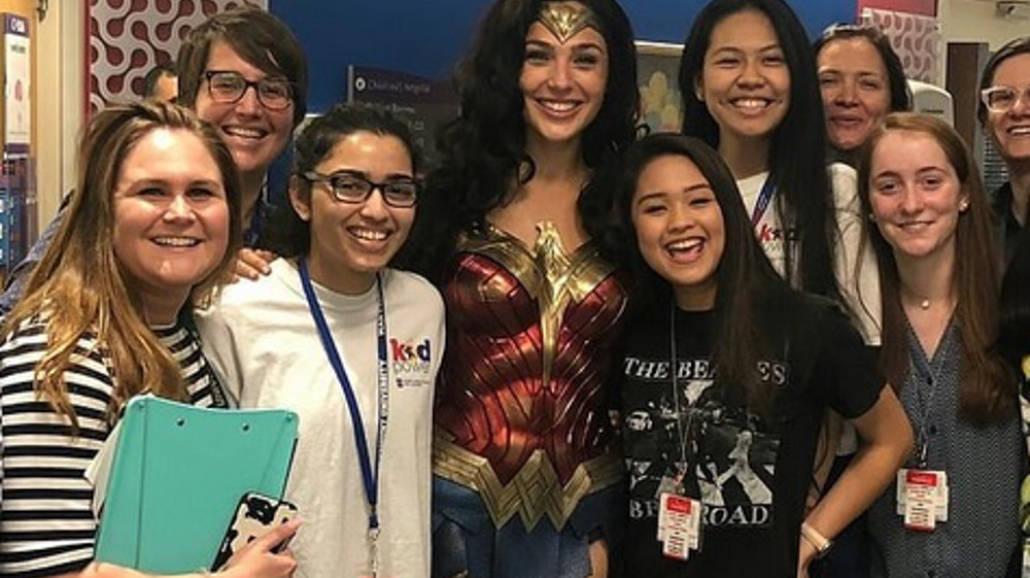 Wonder Woman w szpitalu