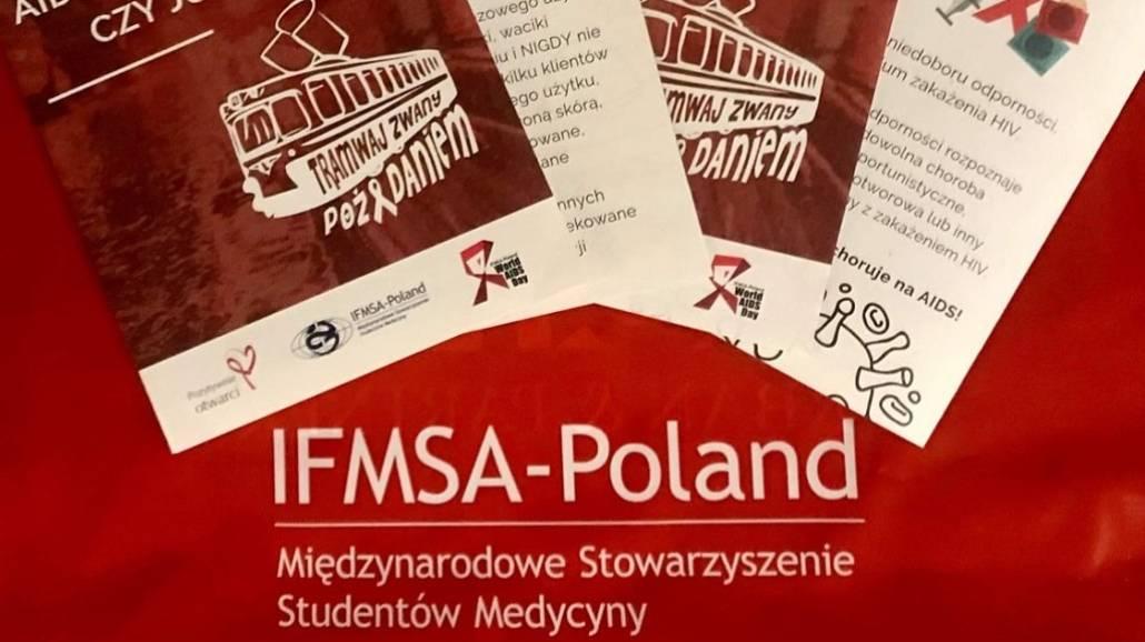 Tramwaj zwany poÅźądaniem - kampania na temat HIV