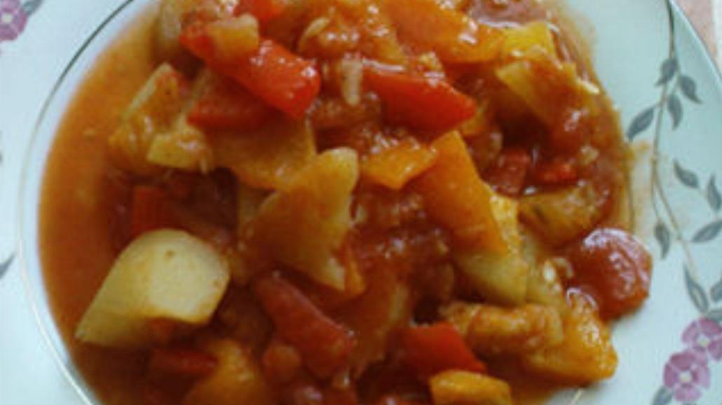 Paprykarz z ziemniakami