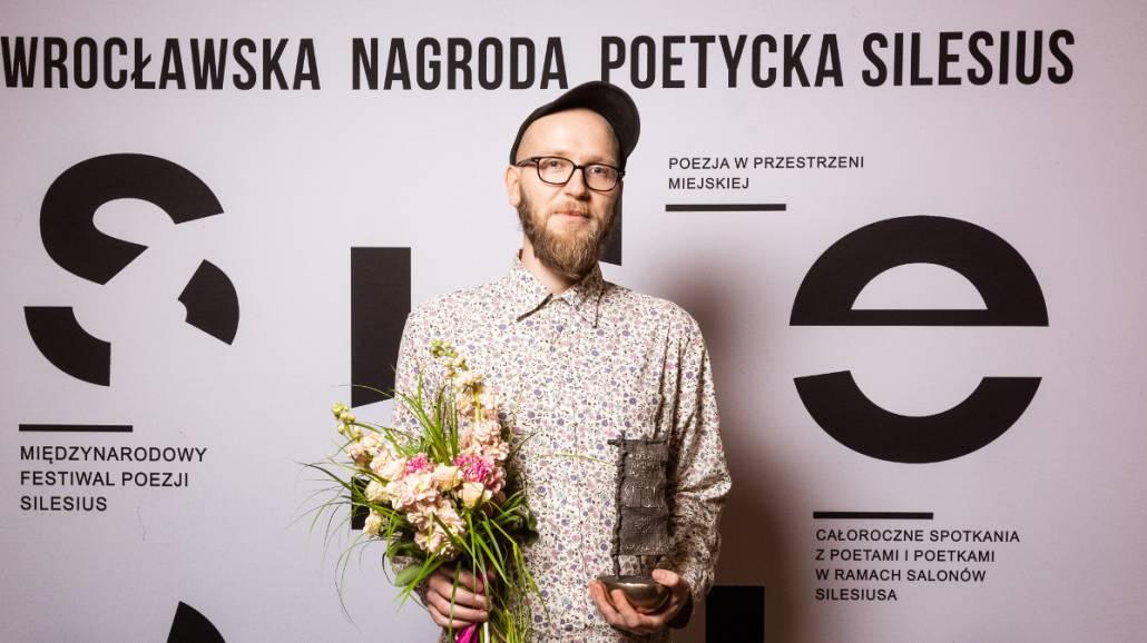 Maciej Bobula, laureat Silesiusa 2019 za Debiut