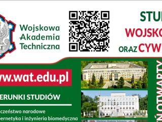 Wojskowa Akademia Techniczna zaprasza na Dzień Otwarty - kierunki, zajęcia, akademia, programy, studia