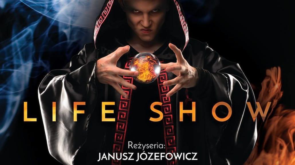 Janusz Józefowicz oczaruje Warszawę sztuką iluzji