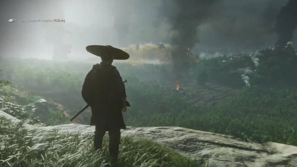 Ghost of Tsushima gameplay