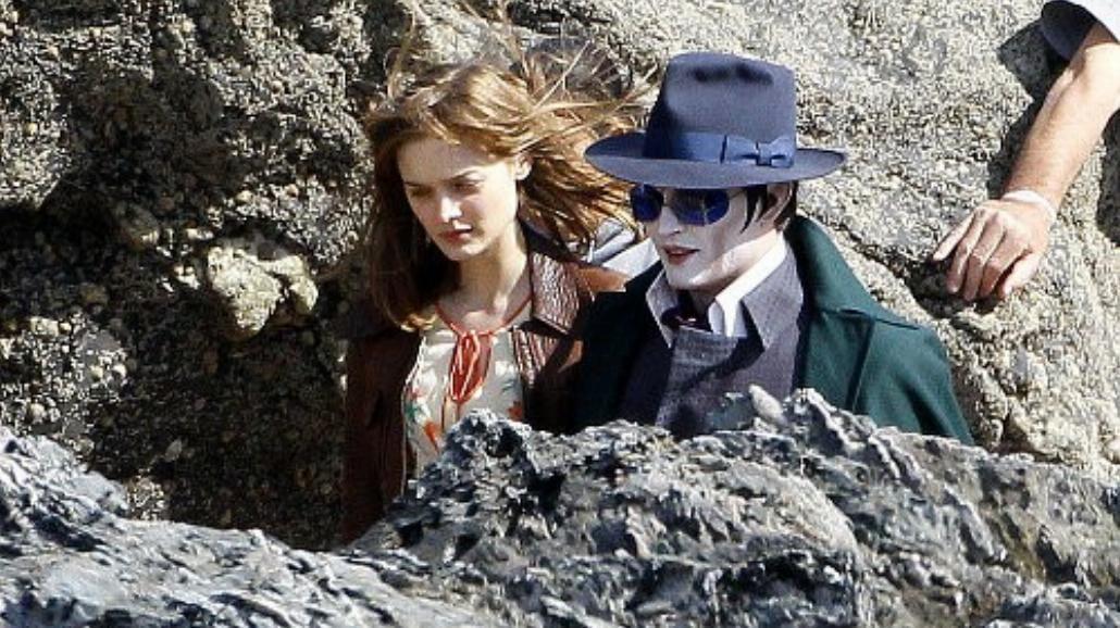 Johnny Depp jako wampir. Pierwsze zdjęcie!