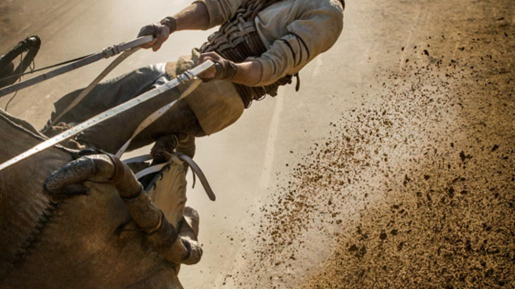 Ben-Hur - słynny wyścig rydwanów w nowej, współczesnej wersji [WIDEO]
