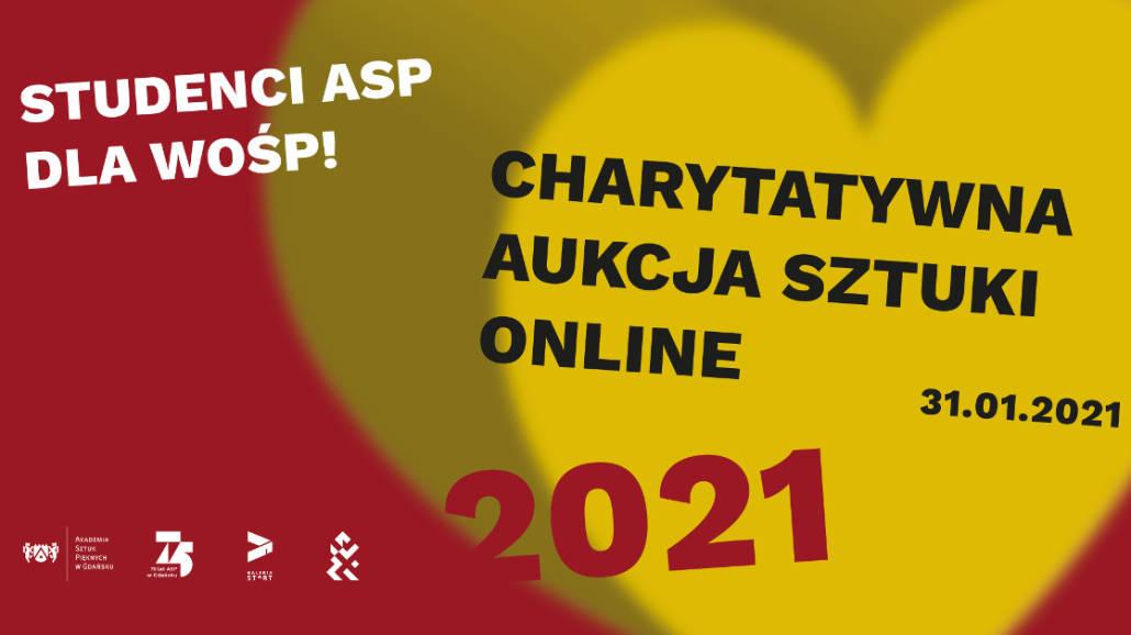 studenci ASP dla WOŚP 2021