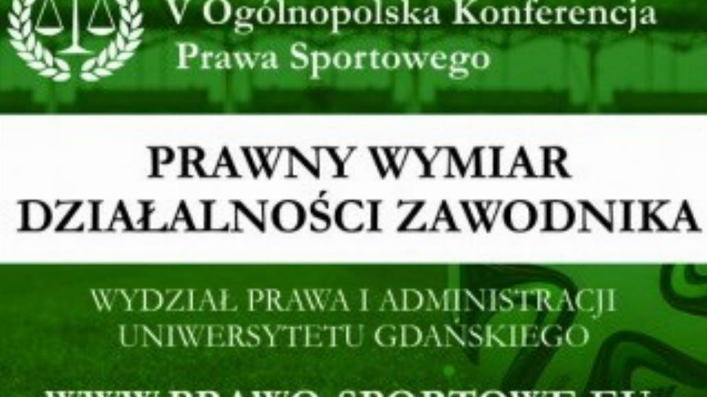 V Ogólnopolska Konferencja Prawa Sportowego