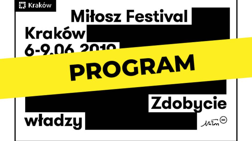 Festiwal Miłosza 2019