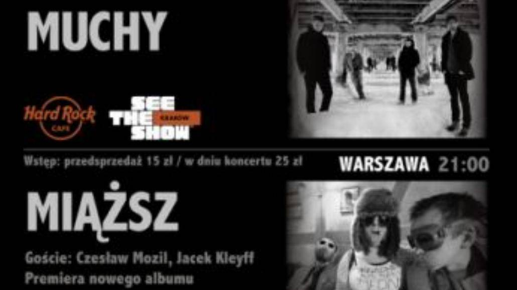 Granie Na Żywo – Muchy w Krakowie