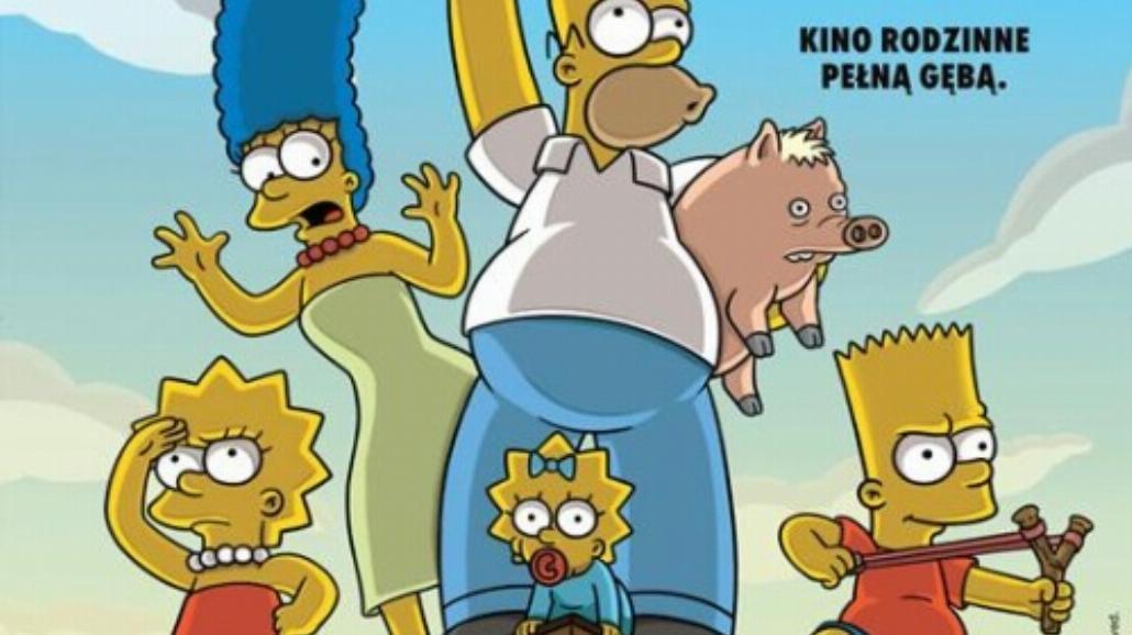 Simpsonowie trzymają poziom