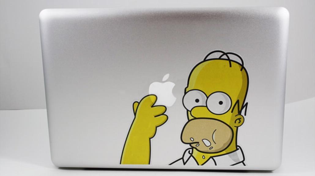 25 pomysłowych naklejek na MacBooka