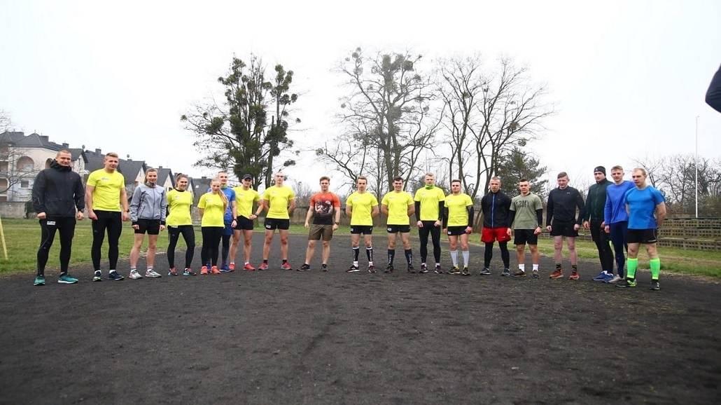 Biegacze z Akademii Wojsk Lądowych