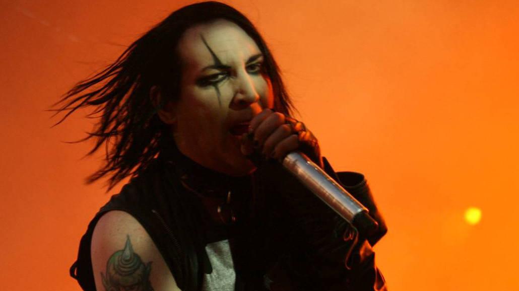Szokujące zachowanie Marilyna Mansona na koncercie! Musicie to zobaczyć [WIDEO]