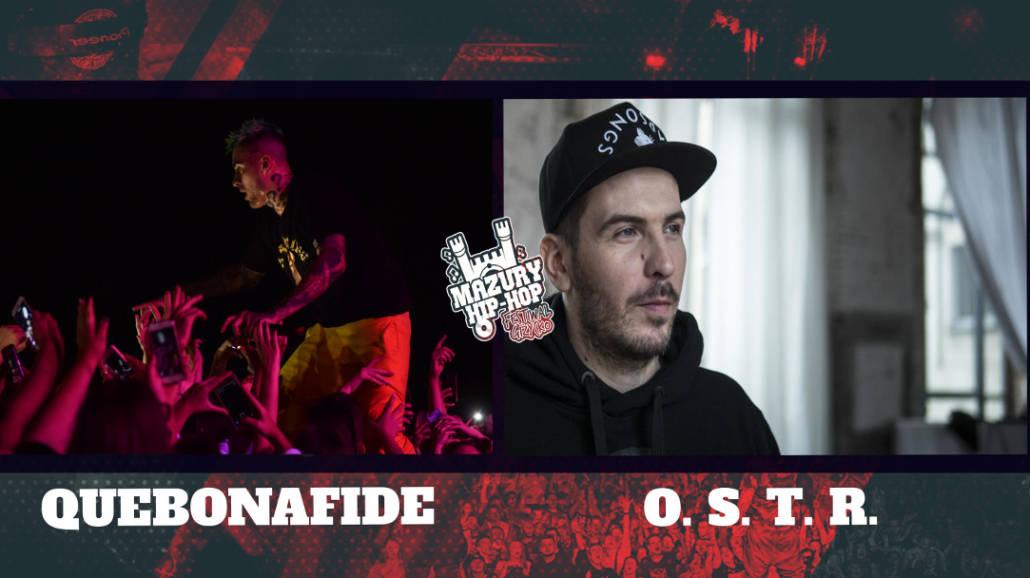 Quebonafide oraz O.S.T.R. kolejnymi gwiazdami Mazury Hip-Hop Festiwal!