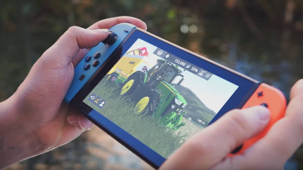 Farming Simulator 20 na Nintendo Switch