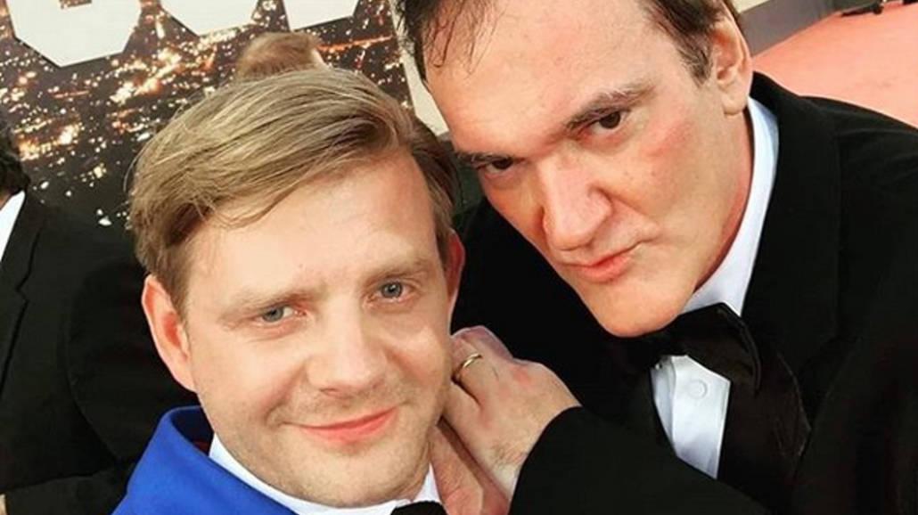 Rafał Zawierucha i Quentin Tarantino