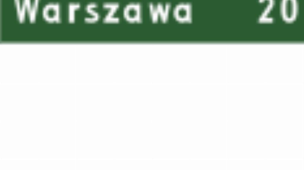 "E-13 ""tablica kierunkowa"""