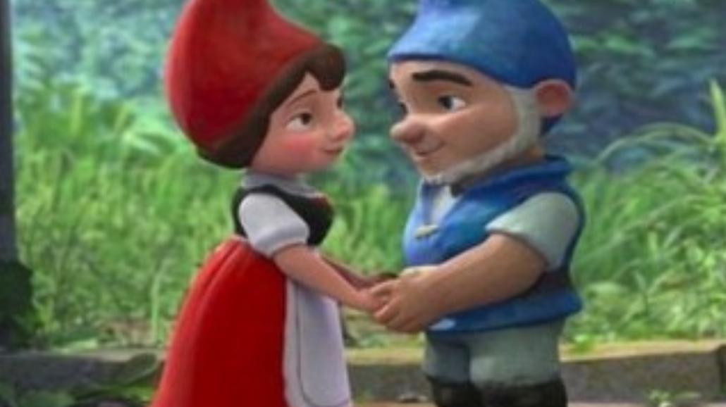 """""""Gnomeo i Julia"""" na szczycie box office"""