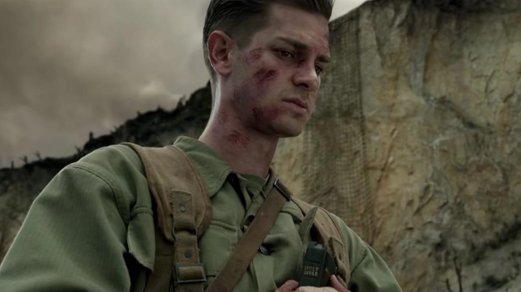Andrew Garfield na wojnie bez broni w filmie Mela Gibsona [WIDEO]