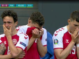 Euro 2020: Dramatyczne sceny w meczu Danii z Finlandią. Christian Eriksen reanimowany - piłkarz, mecz, 12 czerwca 2021, relacja